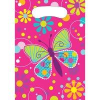 Contient : 1 x 8 Pochettes Cadeaux Papillon Fun
