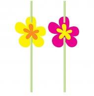 6 Pailles Flower