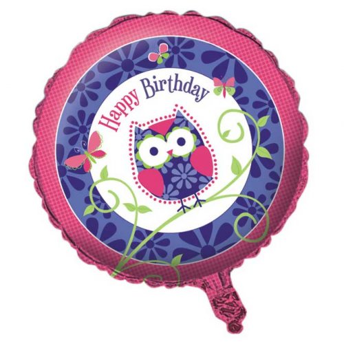 Ballon Mylar Hiboux