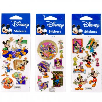 Stickers Mickey Contours Or