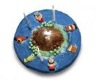 Gâteau L'île aux pirates