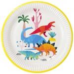 Thème anniversaire Dino Colors pour l'anniversaire de votre enfant