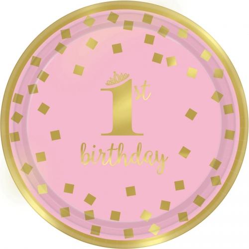 Boîte à fête Royal Birthday 1 - Rose
