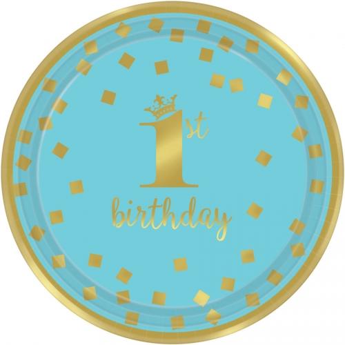 Boîte à fête Royal Birthday 1 - Bleu