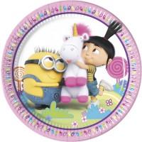 Thème anniversaire Minions Licorne pour l'anniversaire de votre enfant