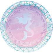 Grande boîte à fête Sirène iridescente