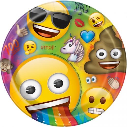 Grande Boîte à Fête Emoji Rainbow