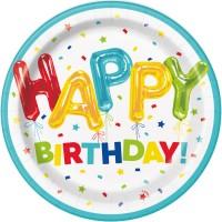 Thème anniversaire Happy Birthday Fantaisie pour l'anniversaire de votre enfant