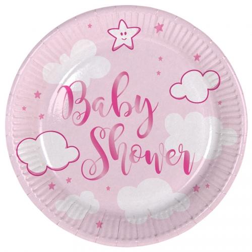 Grande Boîte à fête Baby Shower Fille