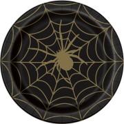 Boîte à Fête - Toile d'Araignée Noir et Or