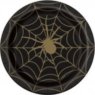 Toile d'Araignée Noir et Or