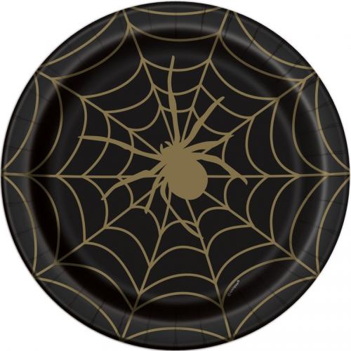 Boîte à Fête - Toile d Araignée Noir et Or