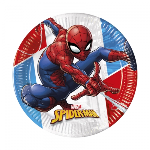 Boîte à Fête - Spiderman Compostable