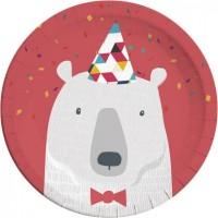 Thème anniversaire Animaux Polaires Rigolos pour l'anniversaire de votre enfant