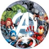 Thème anniversaire Avengers  - Compostable pour l'anniversaire de votre enfant