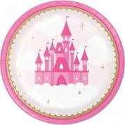 Grande boîte à fête Château Princesse
