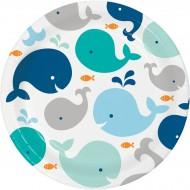 Boîte à fête Baleine Bleue