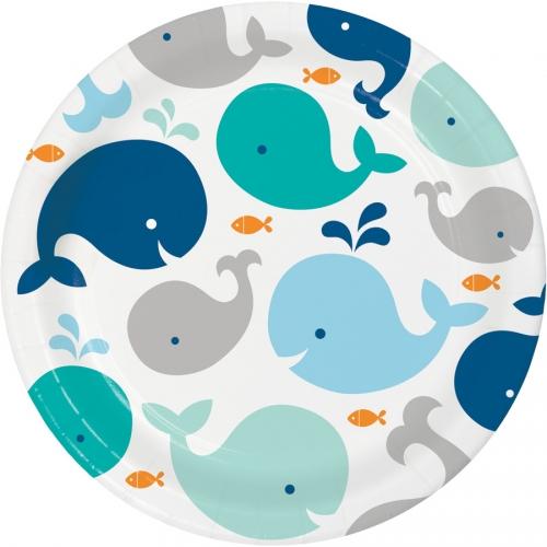 Maxi boîte à fête Baleine Bleue