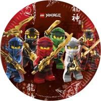 Thème anniversaire Ninjago - Compostable pour l'anniversaire de votre enfant