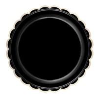 Thème anniversaire Festonnées Noir et Or pour l'anniversaire de votre enfant