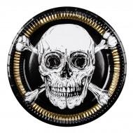 Maxi Boîte à Fête Pirate Noir/Or