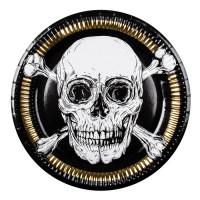 Thème anniversaire Pirate Noir/Or pour l'anniversaire de votre enfant