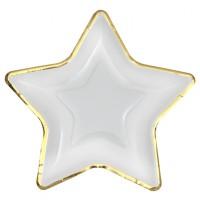 Thème anniversaire Boîte à Fête Noël Cerf Enchanté Or pour l'anniversaire de votre enfant