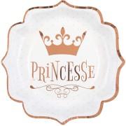 Boîte à fête Princesse Rose Gold
