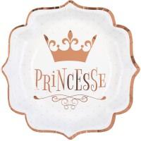 Thème anniversaire Princesse Rose Gold pour l'anniversaire de votre enfant