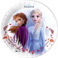 Thème anniversaire Frozen 2 - Compostable pour l'anniversaire de votre enfant