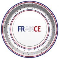 Thème anniversaire France pour l'anniversaire de votre enfant