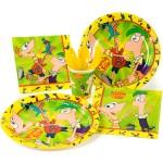 Thème anniversaire Phineas & Ferb pour l'anniversaire de votre enfant
