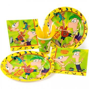 Grande boîte à fête Phineas & Ferb