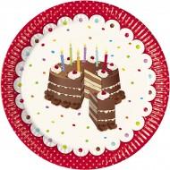 Boîte à fête Birthday Cake