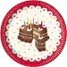Bo�te invit� suppl�mentaire Birthday Cake. n�1
