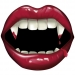 Grande boîte à fête Bouche de Vampire. n°1