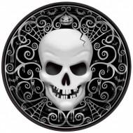 Boîte à fête Tête de Mort Baroque