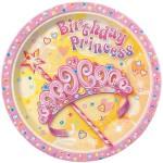 Thème anniversaire Birthday Princess pour l'anniversaire de votre enfant