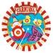 Grande boîte à fête Carnaval Circus. n°1