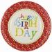 Grande boîte à fête Happy Birthday Stars. n°1