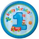 Thème anniversaire 1 an Camion pour l'anniversaire de votre enfant