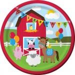 Thème anniversaire Happy Ferme pour l'anniversaire de votre enfant