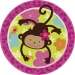 Maxi boîte à fête Monkey Love. n°1