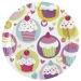 Boîte invité supplémentaire Sweet Cupcakes. n°1