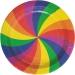 Grande boîte à fête Rainbow Twist. n°1