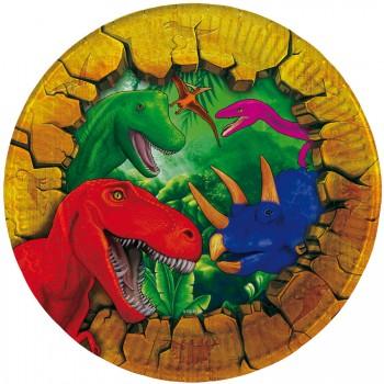 Grande boite à fête Dinosaure