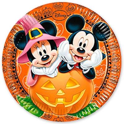Boîte à fête Mickey et Minnie Halloween