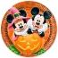 Contient : 1 x 8 Assiettes Mickey et Minnie Halloween