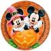 Maxi boîte à fête Mickey et Minnie Halloween. n°1