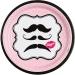 Boîte invité supplémentaire Moustache Kiss. n°1
